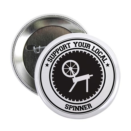"Support Spinner 2.25"" Button (10 pack)"