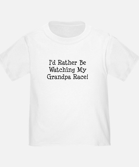Watch My Grandpa Race T