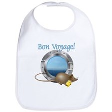 Sailing Mouse on Vacation Bib