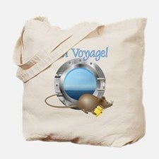 Sailing Mouse on Vacation Tote Bag