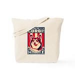 Obey the Welsh Corgi! Tote Bag