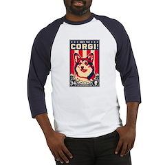 Obey the Corgi! Baseball Jersey