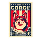 Obey the Corgi! Postcards (Package of 8)