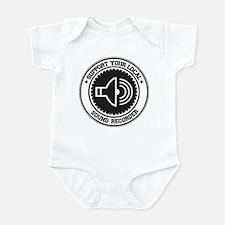 Support Sound Recorder Infant Bodysuit