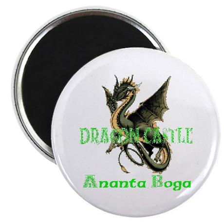 "Dragon Castle 2.25"" Magnet (10 pack)"