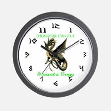 Dragon Castle Wall Clock