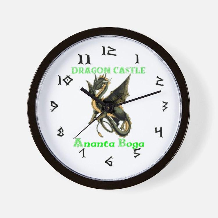 Dragon Castle Wall Clock