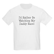 Watch My Daddy Race T-Shirt