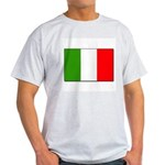 Italian Flag Ash Grey T-Shirt