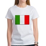 Italian Flag Women's T-Shirt