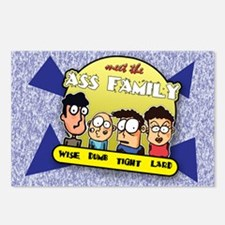 The Ass Family... Postcards (Package of 8)