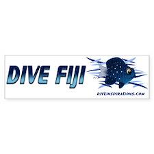 Dive Fiji (blue) Bumper Bumper Sticker