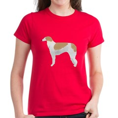 Borzoi Women's Dark T-Shirt
