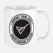 Support Shuffleboard Player Mug