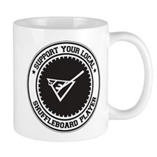 Support Shuffleboard Player Mug