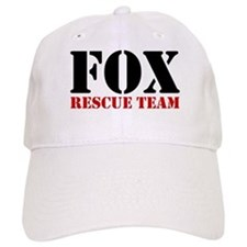 Fox Rescue Team no fur Baseball Cap