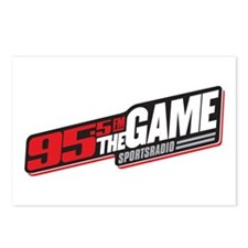 95.5 The Game Postcards (Package of 8)