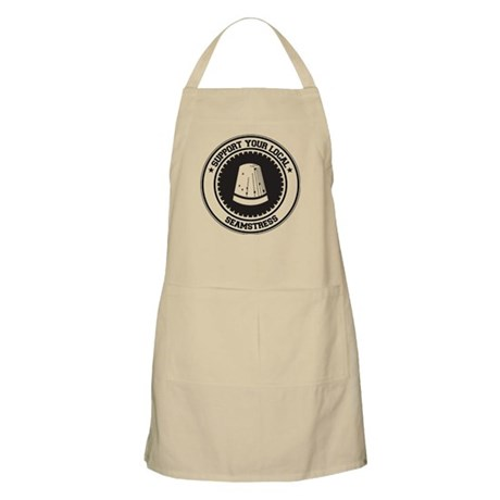 Support Seamstress BBQ Apron