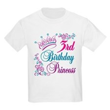 3rd Birthday Princess T-Shirt