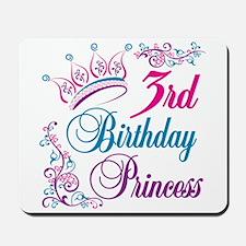 3rd Birthday Princess Mousepad