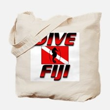 Dive Fiji (red) Tote Bag