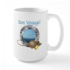 Sailing Mouse on Vacation Mug