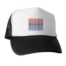 1 line text logo Trucker Hat