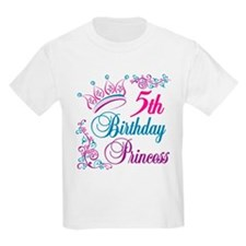 5th Birthday Princess T-Shirt