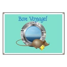 Sailing Mouse on Vacation Banner