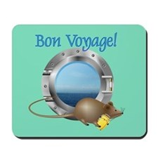 Sailing Mouse on Vacation Mousepad