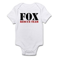 Fox Rescue Team no fur Infant Bodysuit