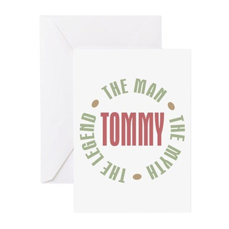 Tommy Man Myth Legend Greeting Cards (Pk of 20)