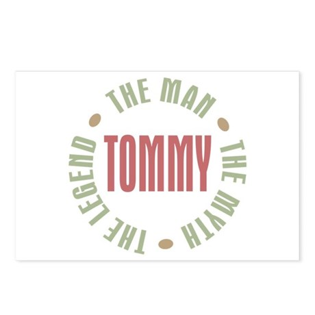 Tommy Man Myth Legend Postcards (Package of 8)