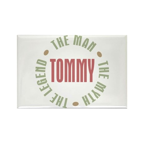Tommy Man Myth Legend Rectangle Magnet (10 pack)