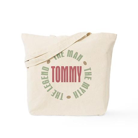 Tommy Man Myth Legend Tote Bag