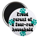 Four-paw household Magnet