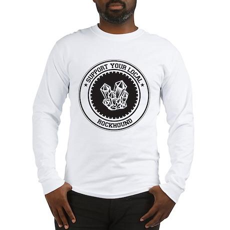 Support Rockhound Long Sleeve T-Shirt
