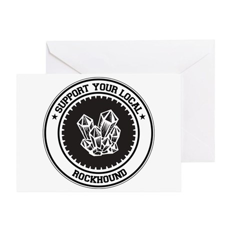 Support Rockhound Greeting Card