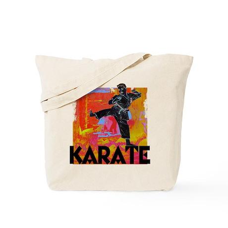 Karate Graffiti Tote Bag