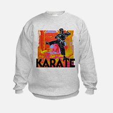 Karate Graffiti Sweatshirt