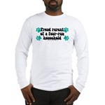 Four-paw household Long Sleeve T-Shirt