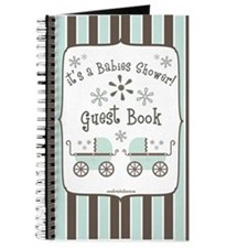 Babies Shower Coordinating Guest Book