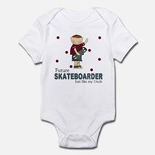 Future Skateboarder Like Uncle Infant Bodysuit