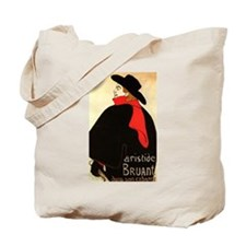 Aristide Bruant 2 Image Tote Bag
