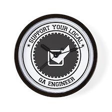 Support QA Engineer Wall Clock