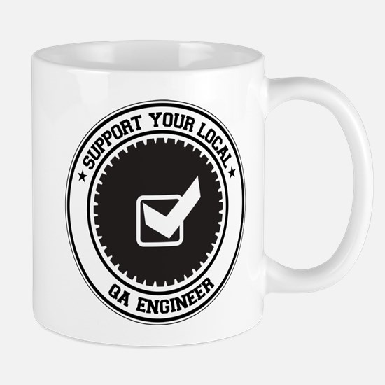 Support QA Engineer Mug