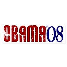 OBAMA Distressed 2 Bumper Bumper Sticker