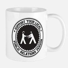 Support Public Relations Person Mug