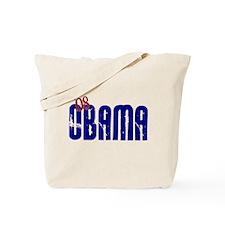 OBAMA Distressed 3 Tote Bag