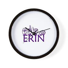ERIN Wall Clock